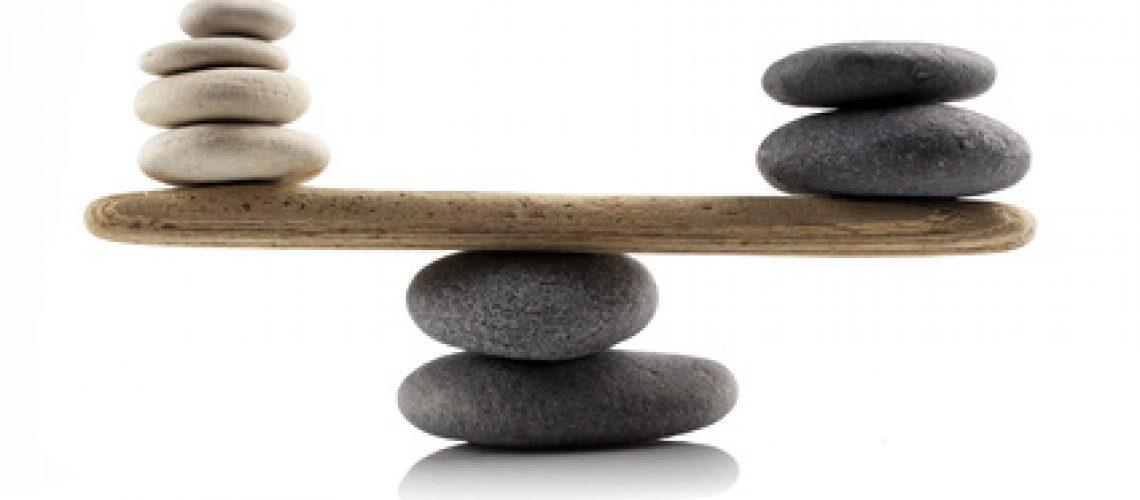 Gesund und im Gleichgewicht